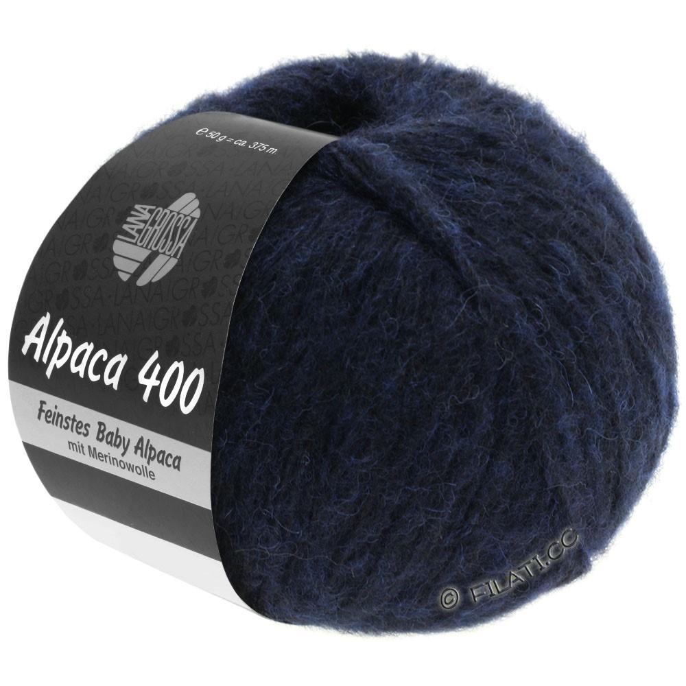Lana Grossa ALPACA 400 | 10-Nachtblau