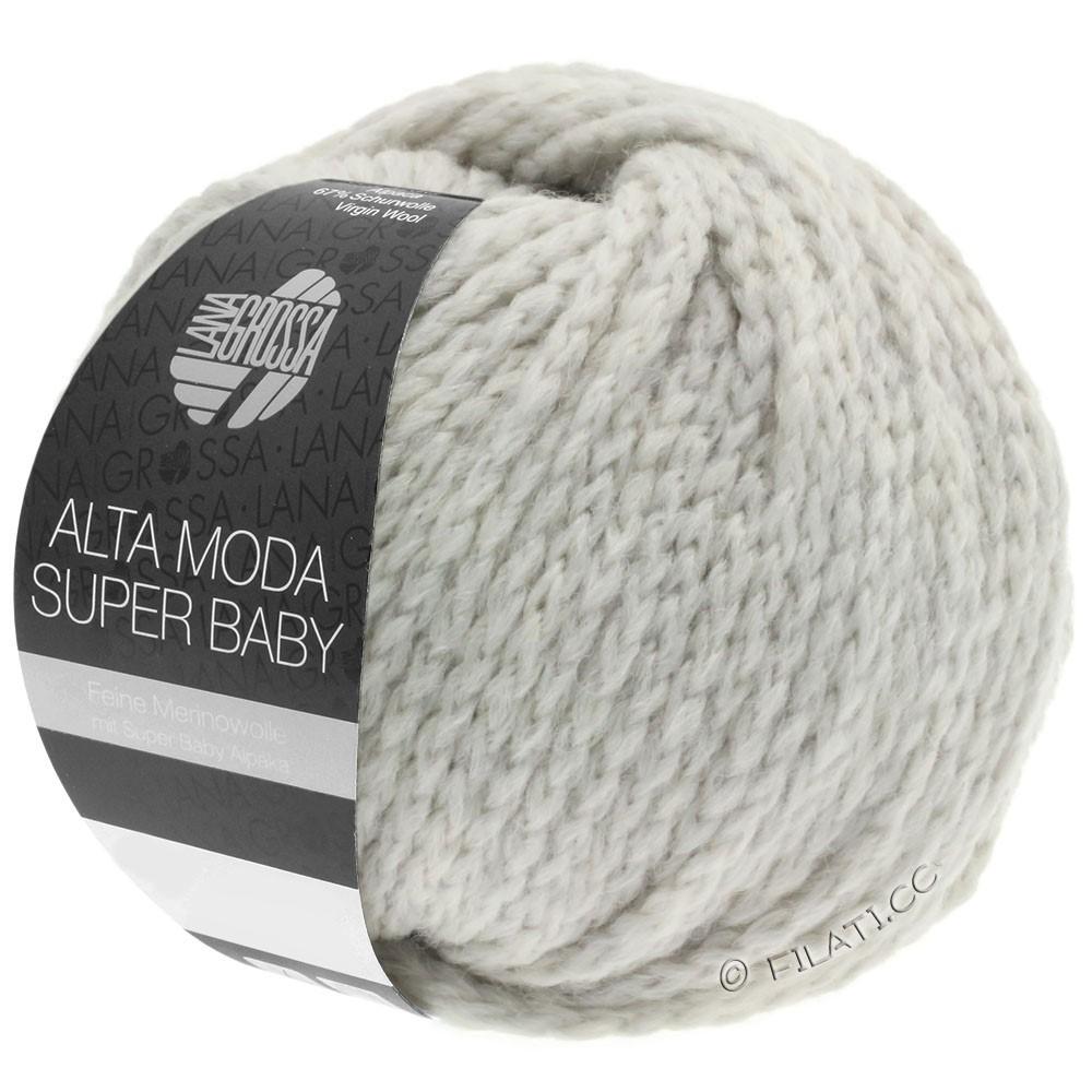 Lana Grossa ALTA MODA SUPER BABY  Uni | 40-Silbergrau
