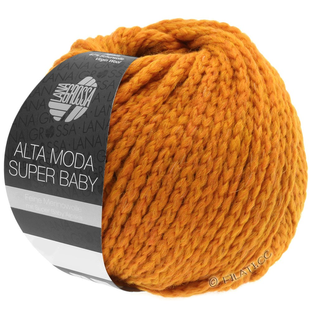Lana Grossa ALTA MODA SUPER BABY  Uni | 42-Orange