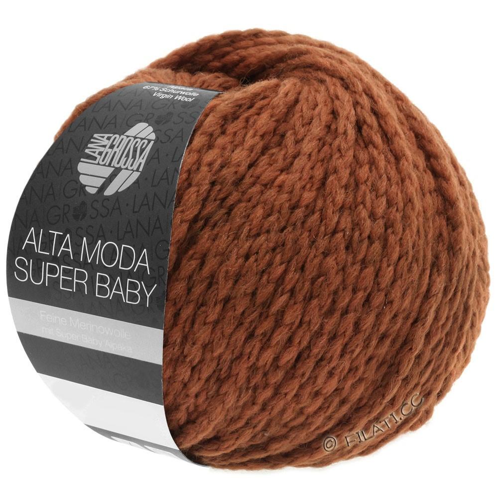 Lana Grossa ALTA MODA SUPER BABY  Uni | 43-Terracotta