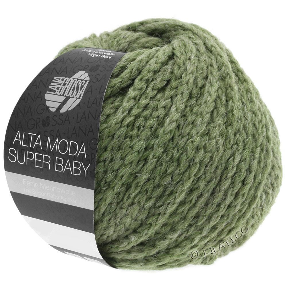 Lana Grossa ALTA MODA SUPER BABY  Uni | 44-Graugrün