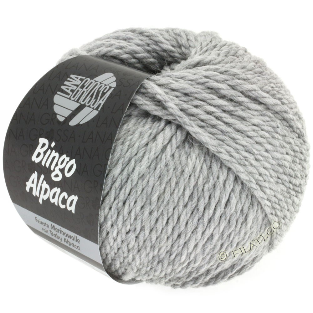 Lana Grossa BINGO ALPACA Uni | 12-Grau