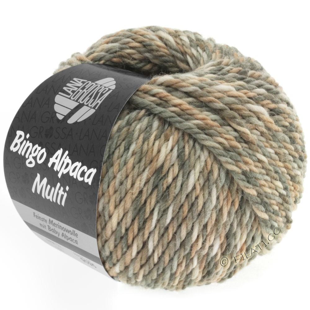 Lana Grossa BINGO ALPACA Multi | 102-Taupe/Beige/Natur/Grège/Sand
