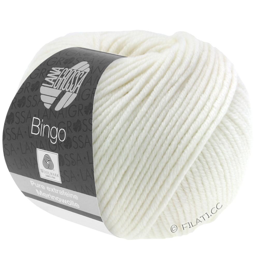 Lana Grossa BINGO  Uni/Melange | 023-Weiß