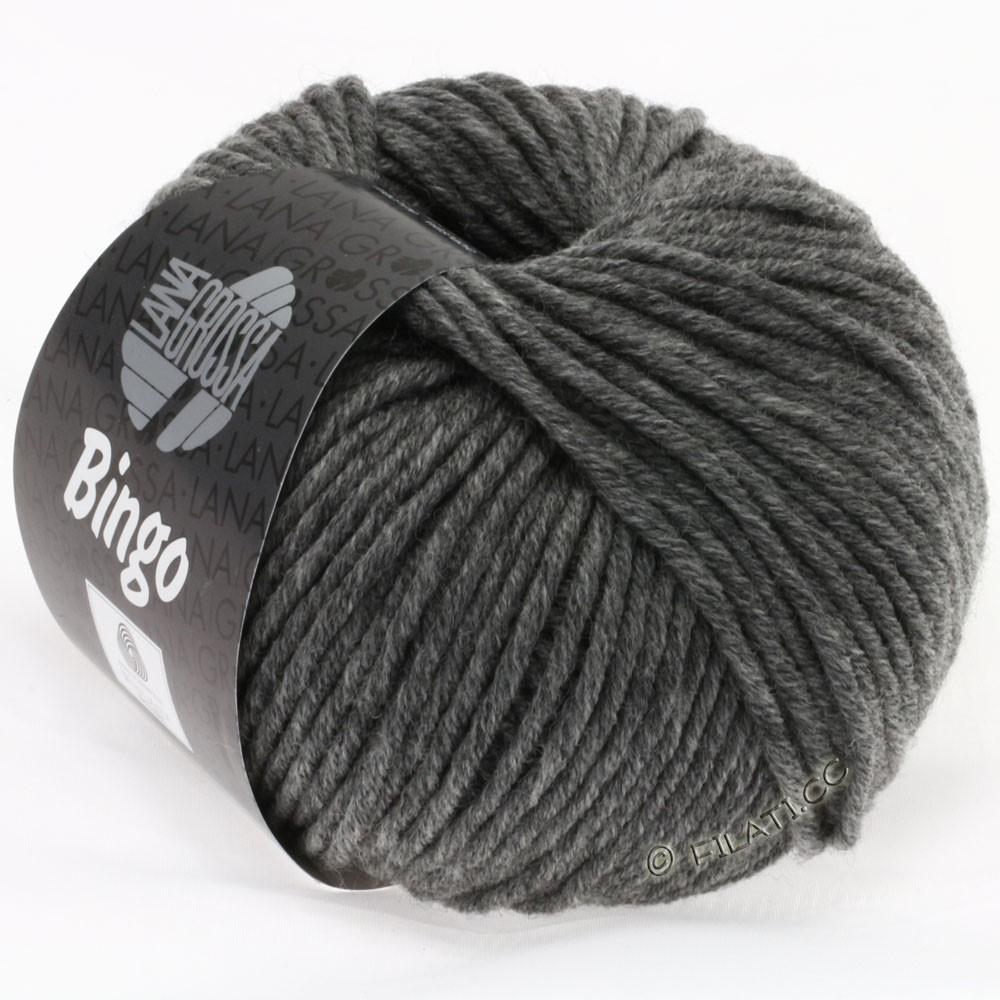 Lana Grossa BINGO  Uni/Melange | 120-Dunkelgrau meliert