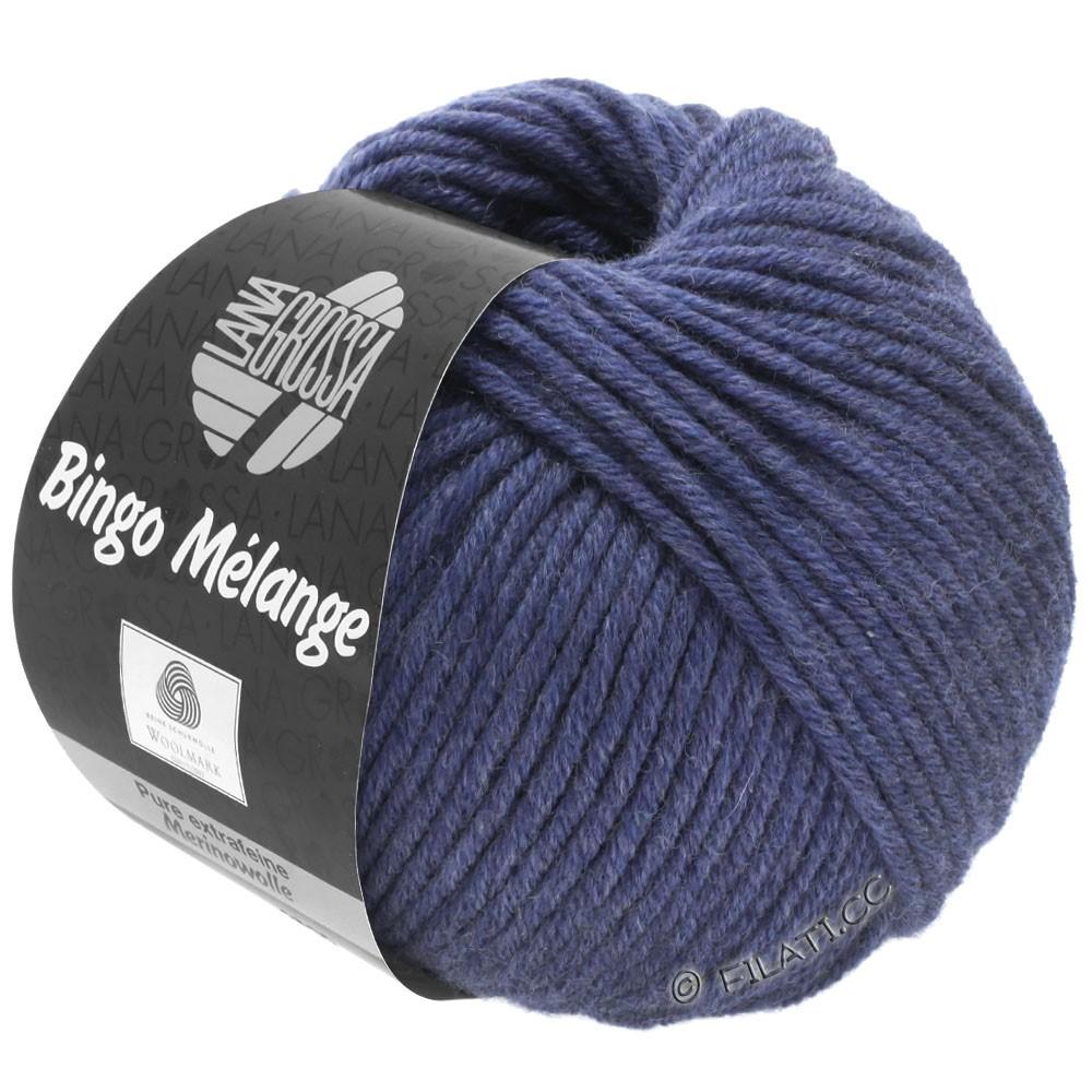 Lana Grossa BINGO  Uni/Melange | 251-Nachtblau meliert