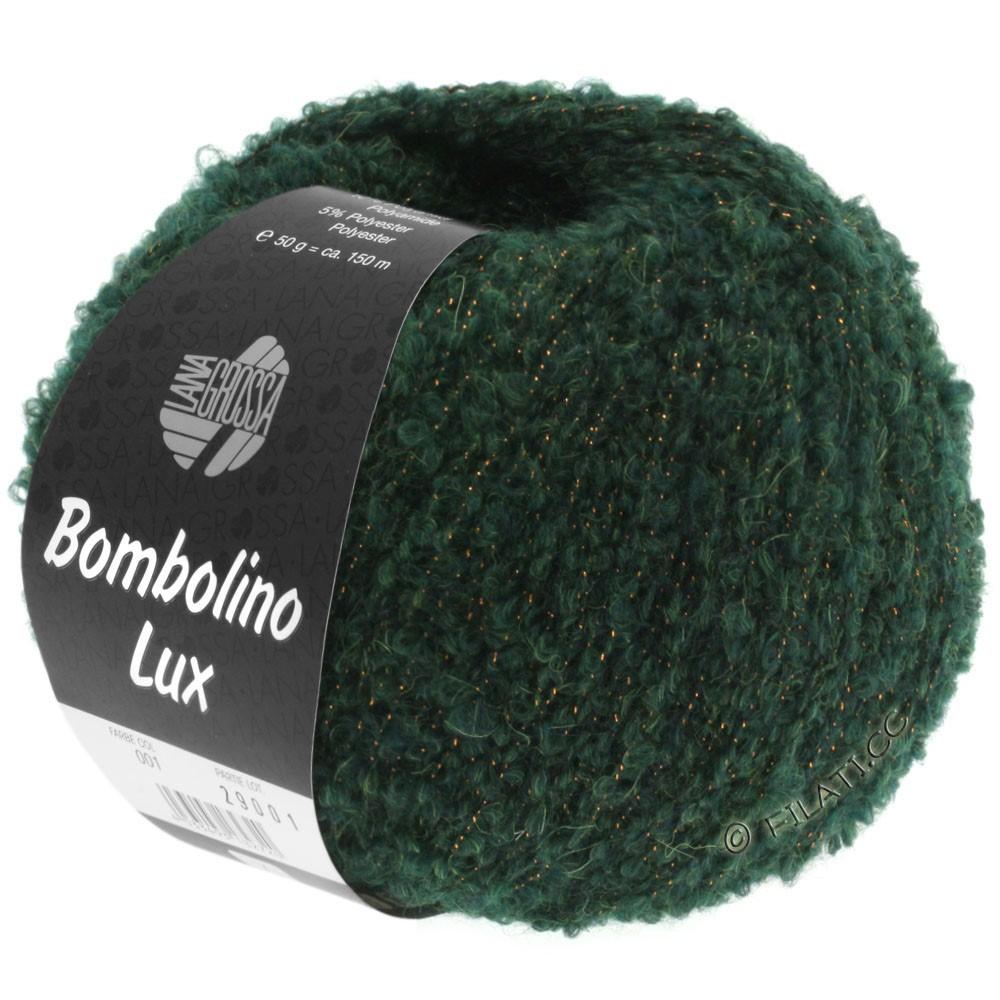 Lana Grossa BOMBOLINO Lux   010-Tanne/Kupfer