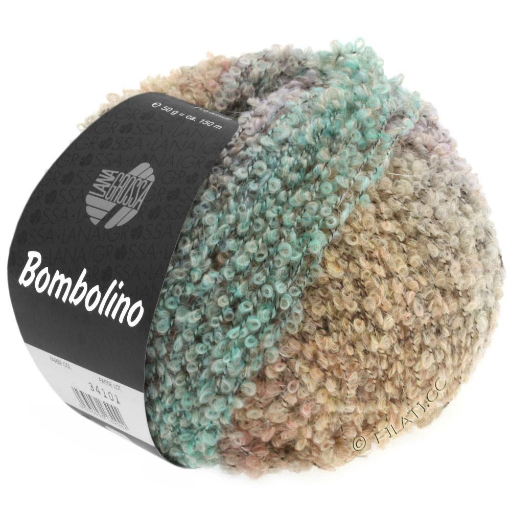 Lana Grossa BOMBOLINO Degradé | 104-Gelb/Rosa/Hellblau