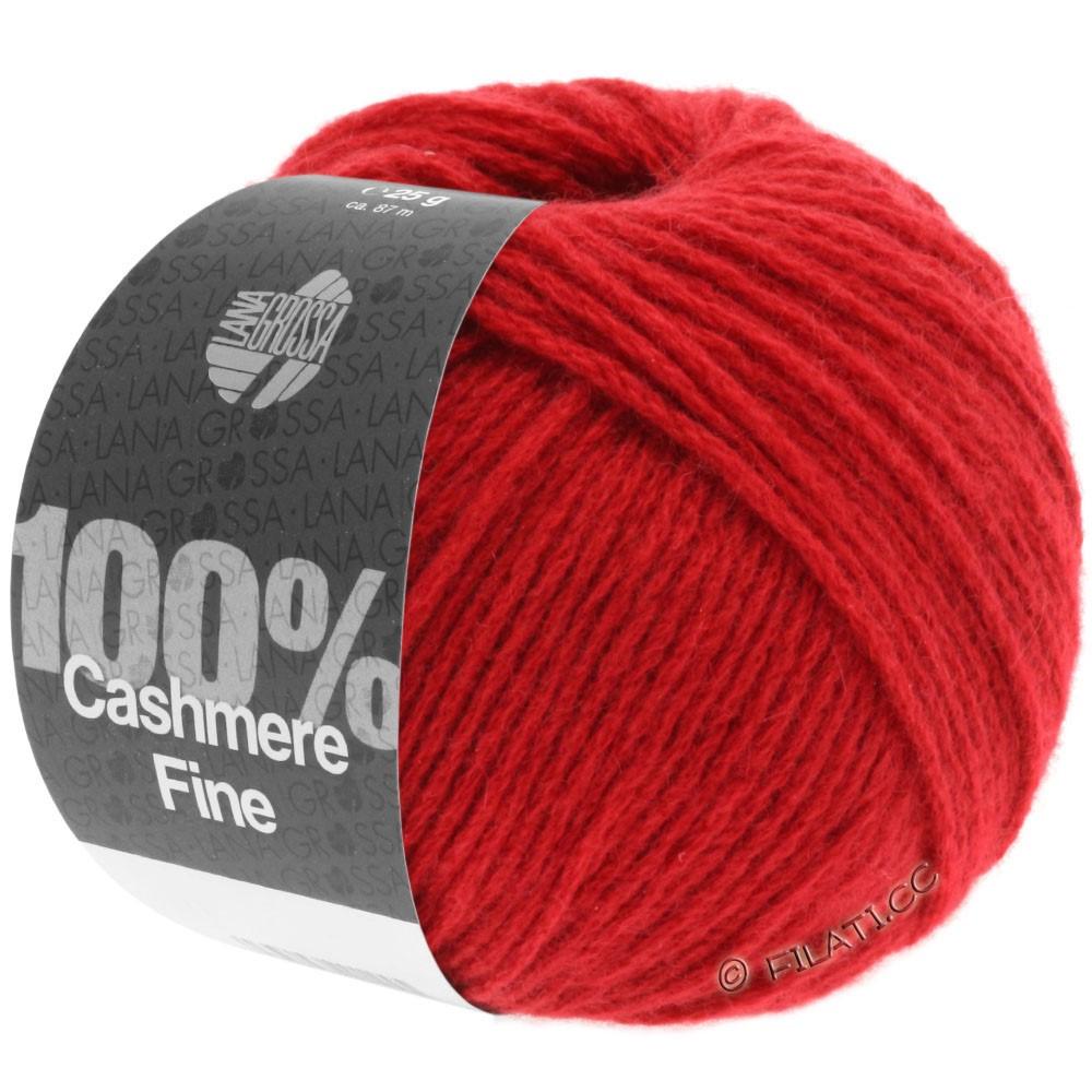 Lana Grossa 100% Cashmere Fine | 08-Rot