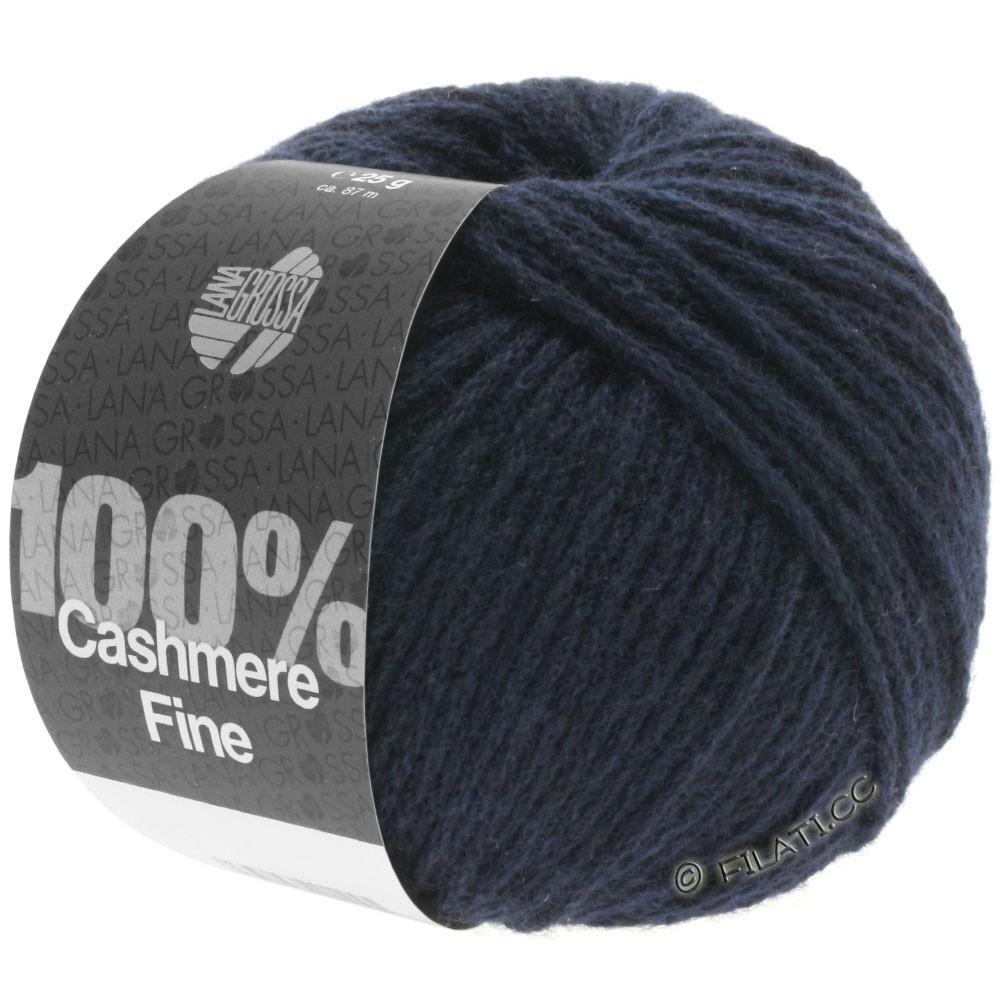 Lana Grossa 100% Cashmere Fine | 09-Nachtblau