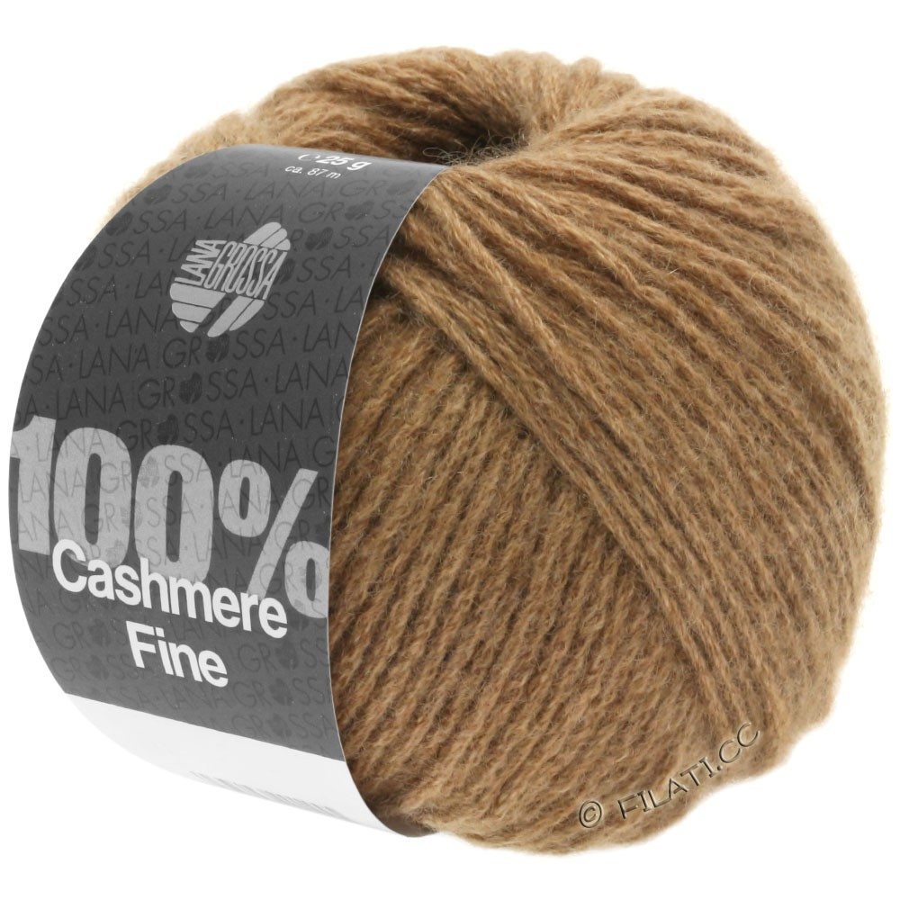Lana Grossa 100% Cashmere Fine | 20-Camel
