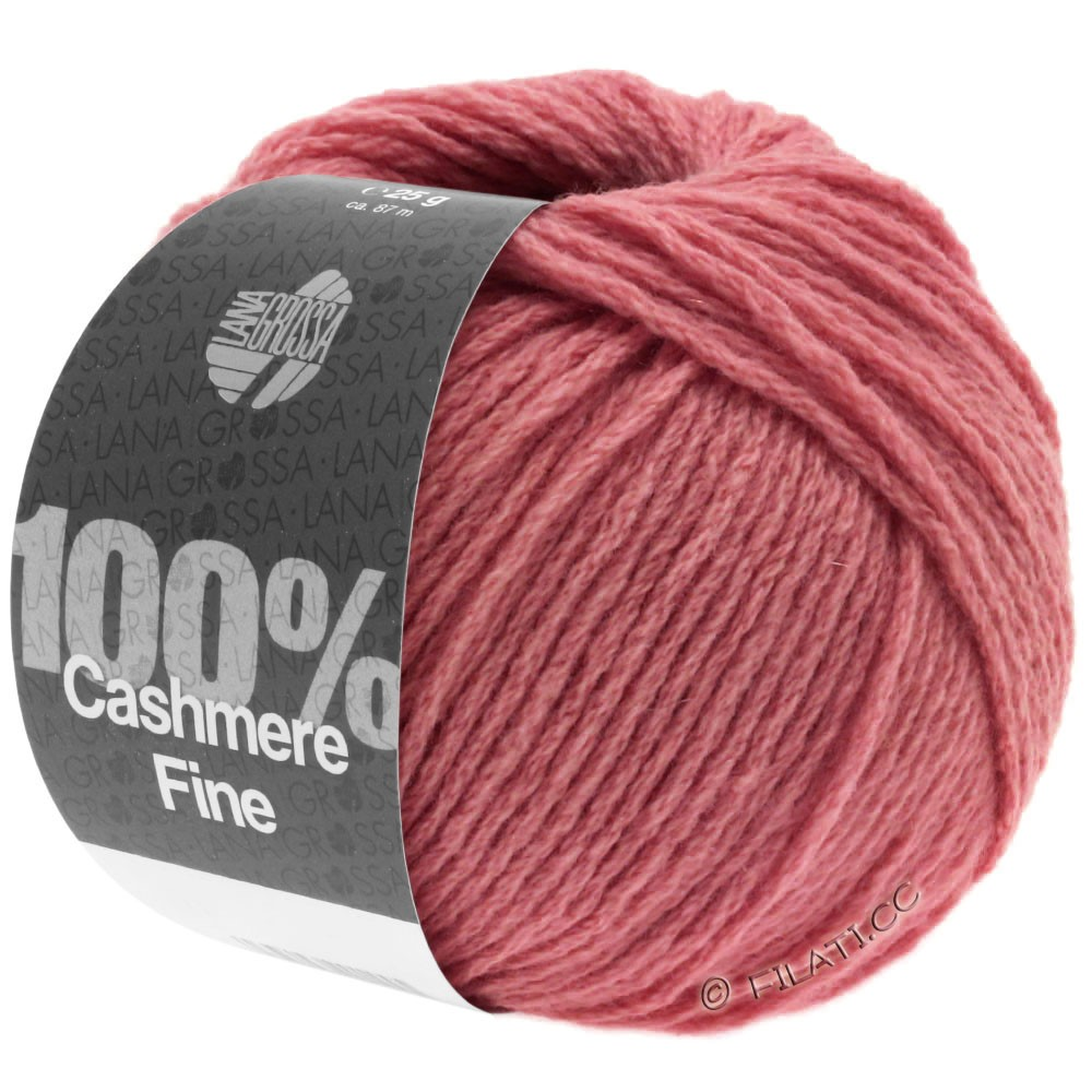 Lana Grossa 100% Cashmere Fine | 27-Terracottarot