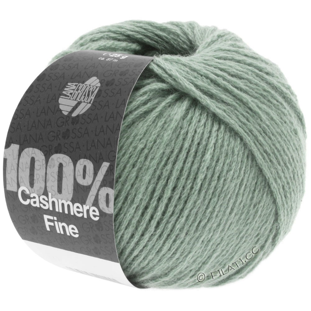 Lana Grossa 100% Cashmere Fine | 29-Resedagrün