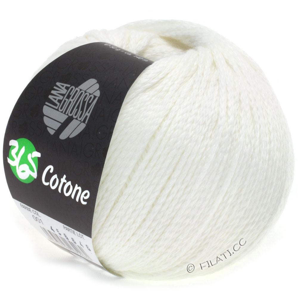 Lana Grossa 365 COTONE | 01-Weiß