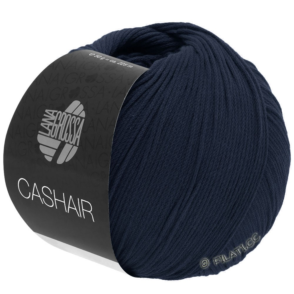 Lana Grossa CASHAIR | 15-Nachtblau