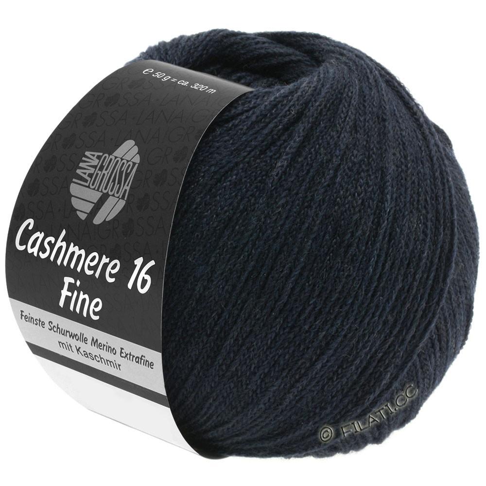 Lana Grossa CASHMERE 16 FINE Uni/Degradé | 012-Nachtblau