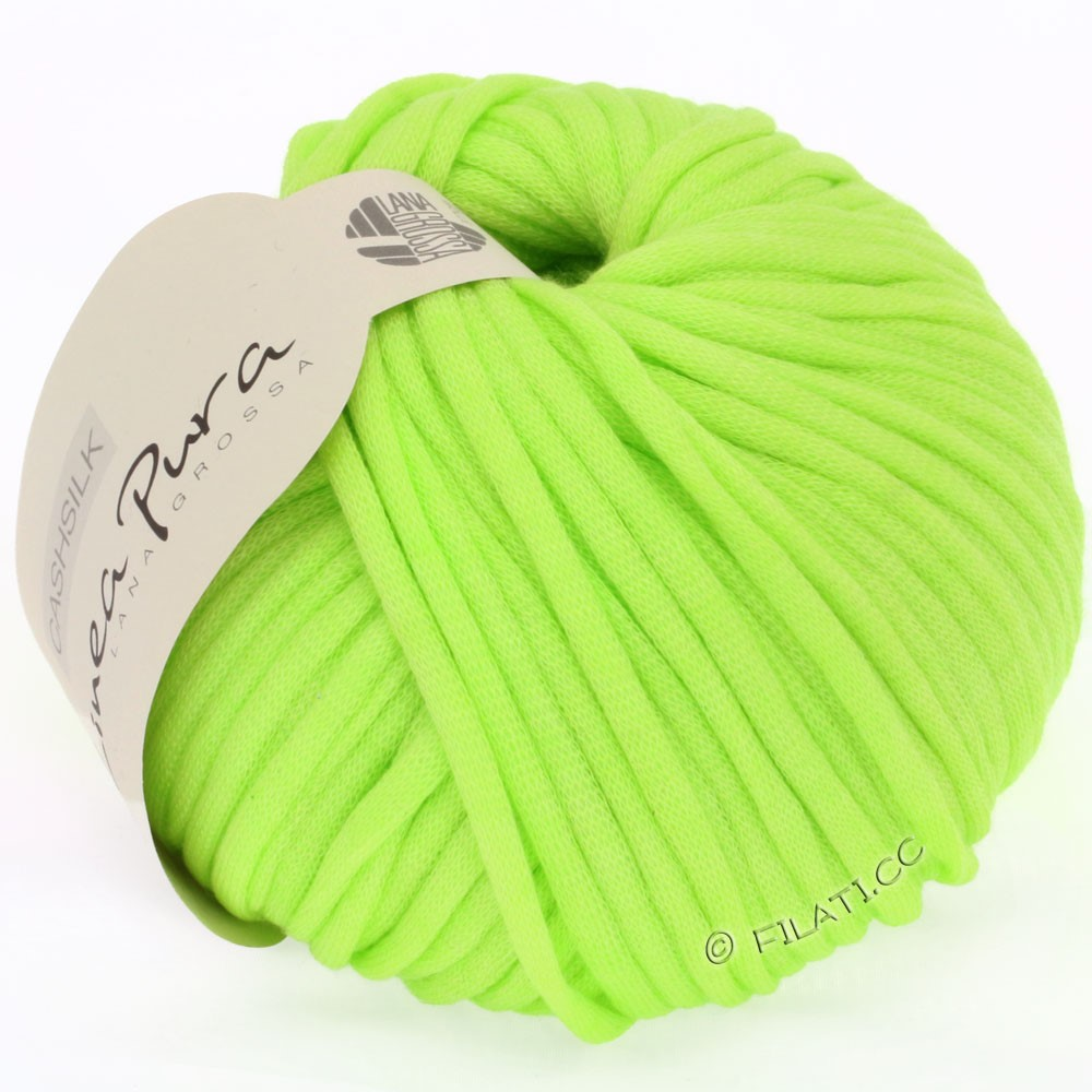 Lana Grossa CASHSILK (Linea Pura) | 24-Gelbgrün