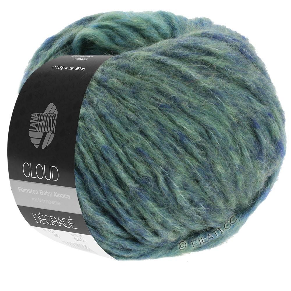 Lana Grossa CLOUD Degradé | 113-Grau/Schiefer/Blau