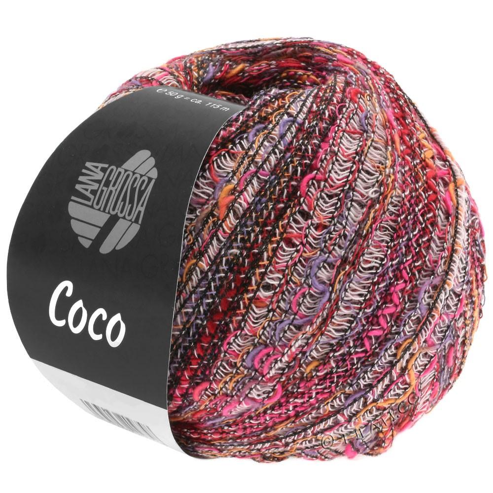 Lana Grossa COCO | 01-Pink/Lila/Rosé/Orange