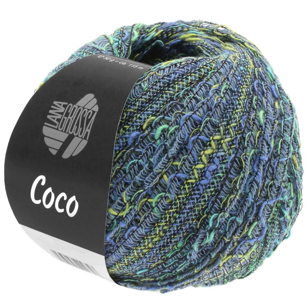 Lana Grossa COCO | 08-Jeans/Pistazie/Türkis/Blau