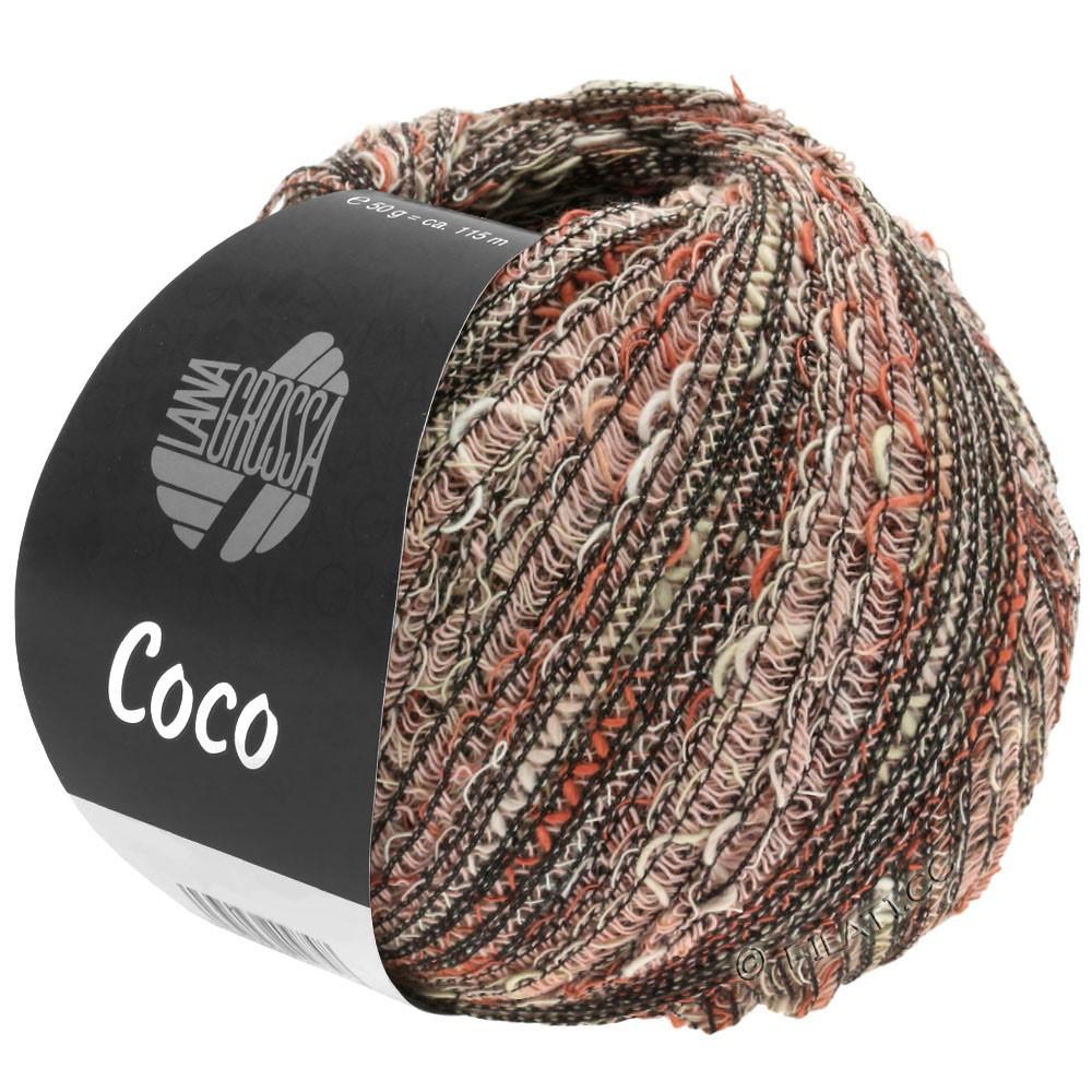 Lana Grossa COCO | 13-Natur/Terracotta/Rosa