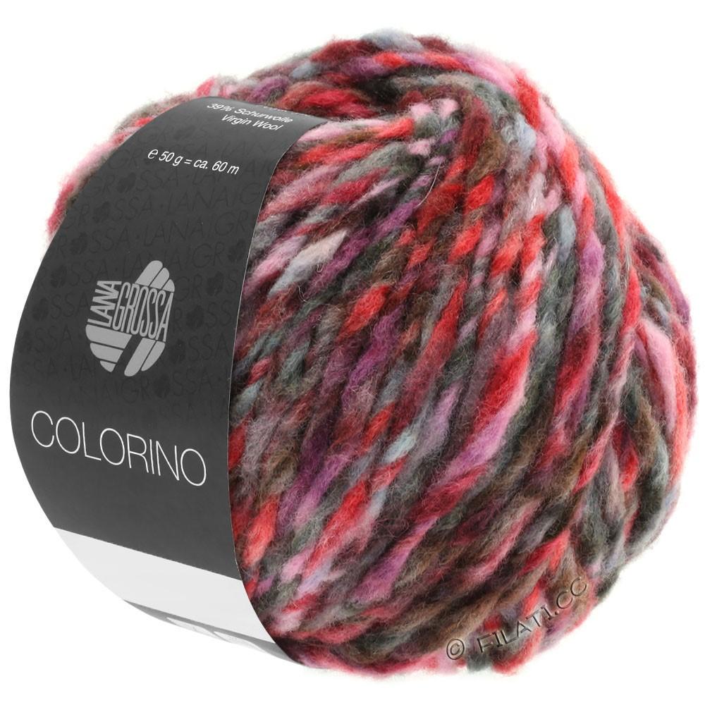 Lana Grossa COLORINO | 03-Rot/Rosa/Grau/Burgund/Anthrazit