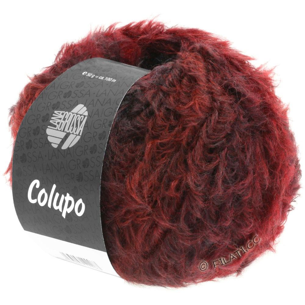 Lana Grossa COLUPO | 01-Rotbraun/Weinrot