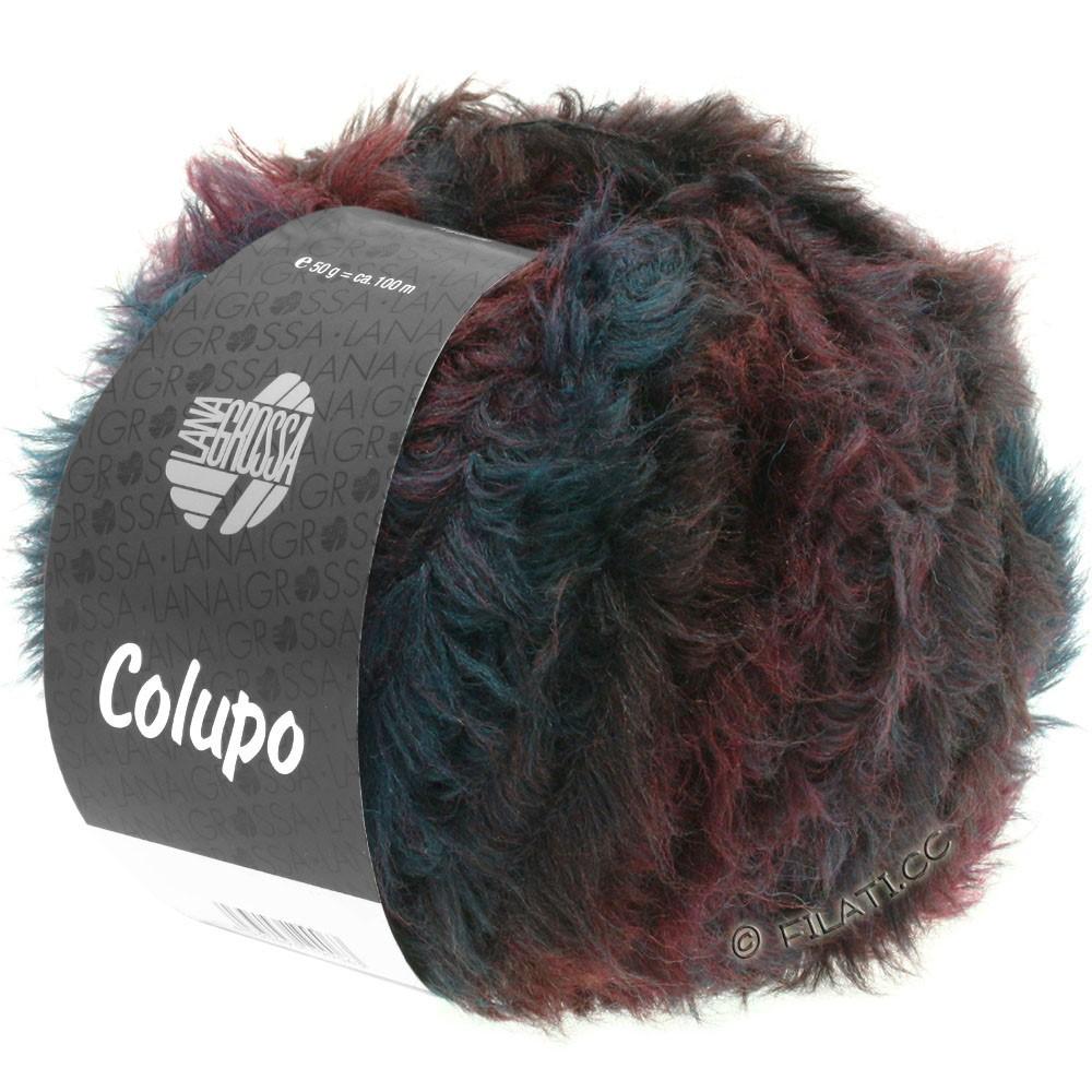 Lana Grossa COLUPO | 02-Burgund/Anthrazit