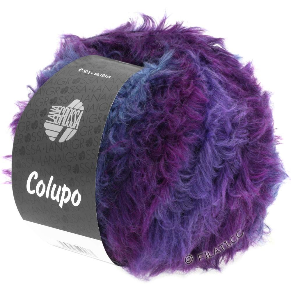 Lana Grossa COLUPO | 11-Dunkelgrau/Violett