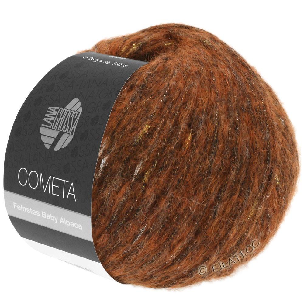 Lana Grossa COMETA   04-Kupfer/Gold/Silber