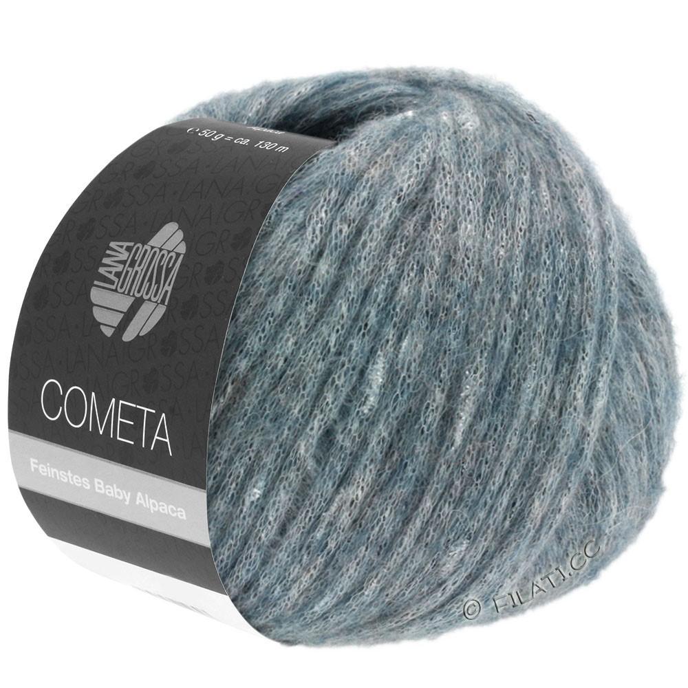Lana Grossa COMETA   10-Graublau/Silber