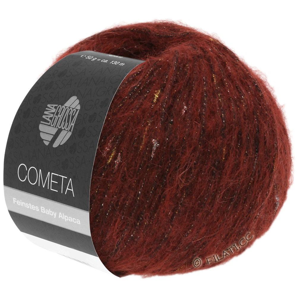 Lana Grossa COMETA   16-Rotbraun/Gold/Silber