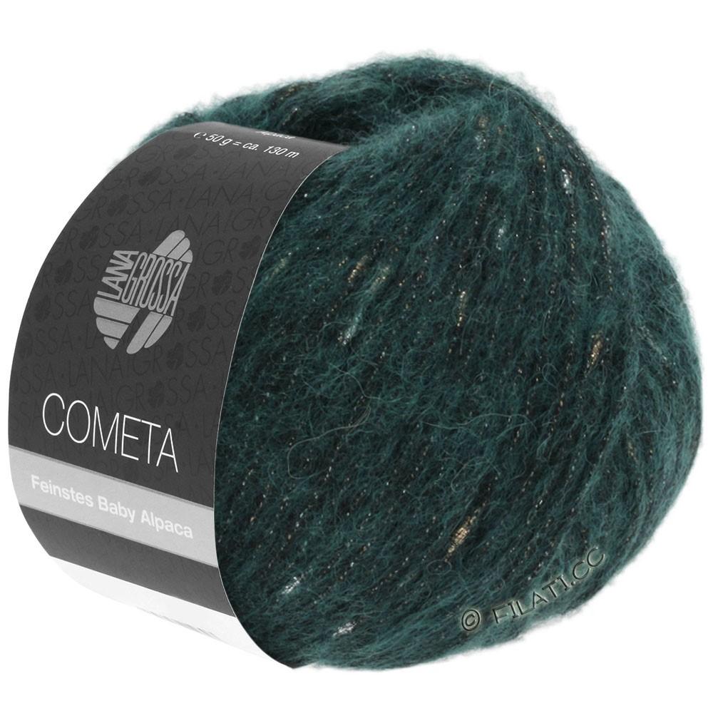 Lana Grossa COMETA   21-Dunkelpetrol/Gold/Silber