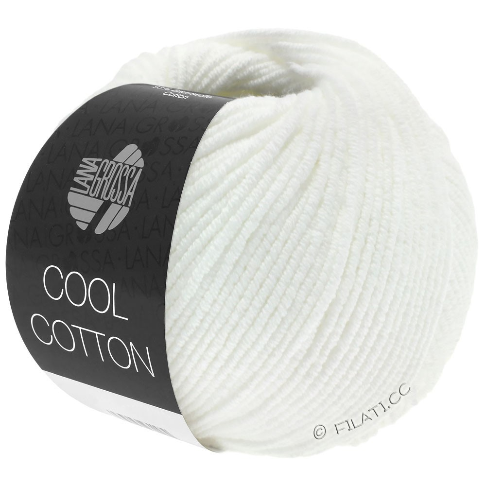 Lana Grossa COOL COTTON   01-Weiß