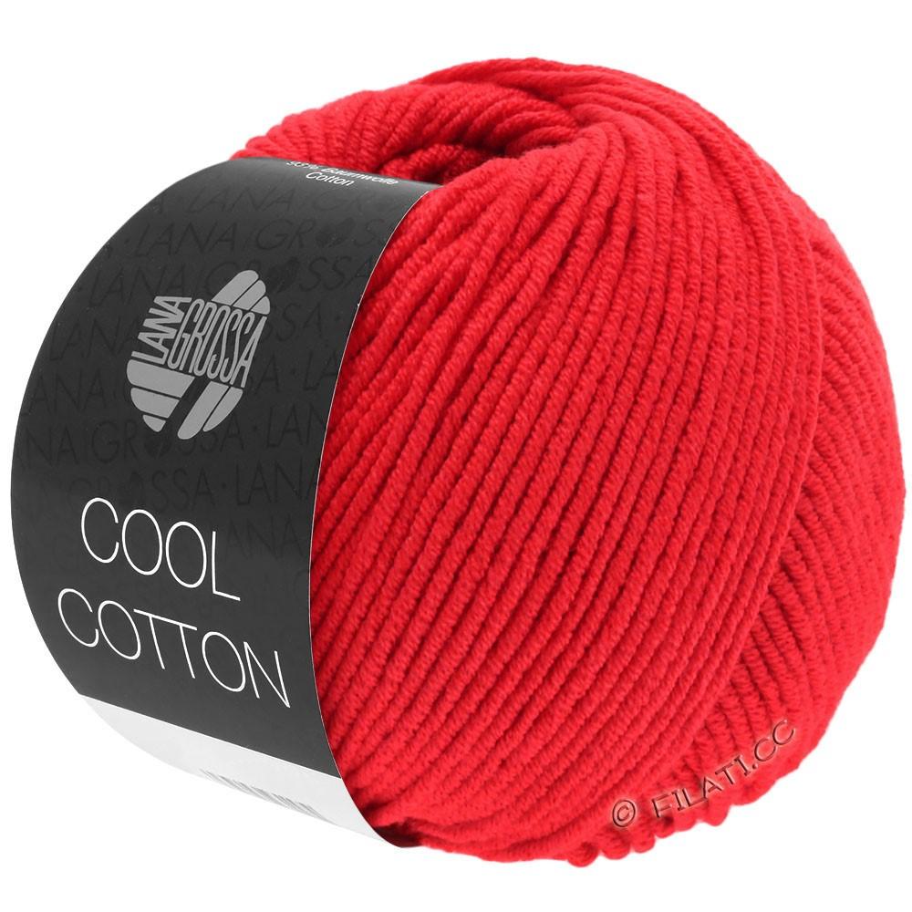 Lana Grossa COOL COTTON   08-Signalrot
