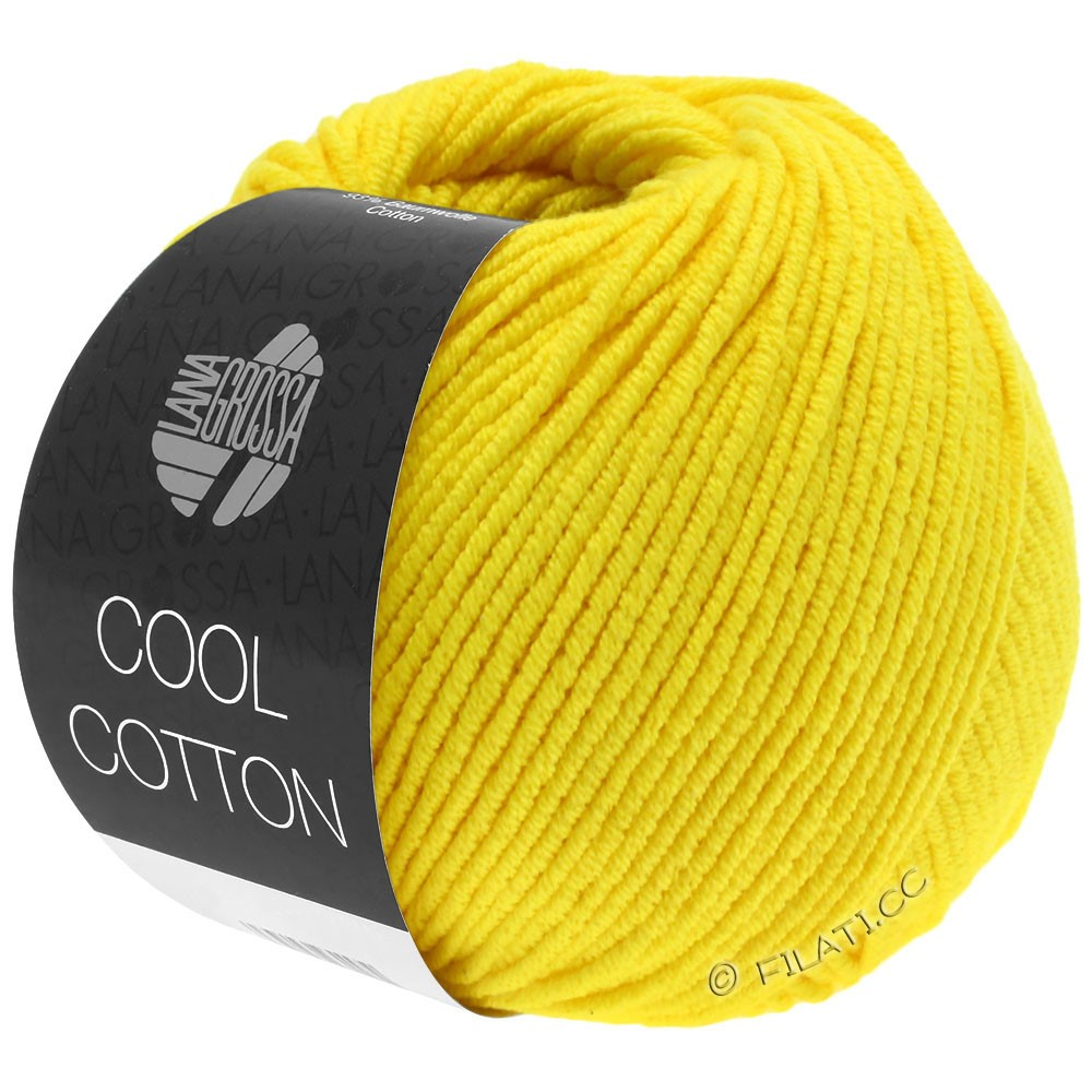 Lana Grossa COOL COTTON   10-Gelb