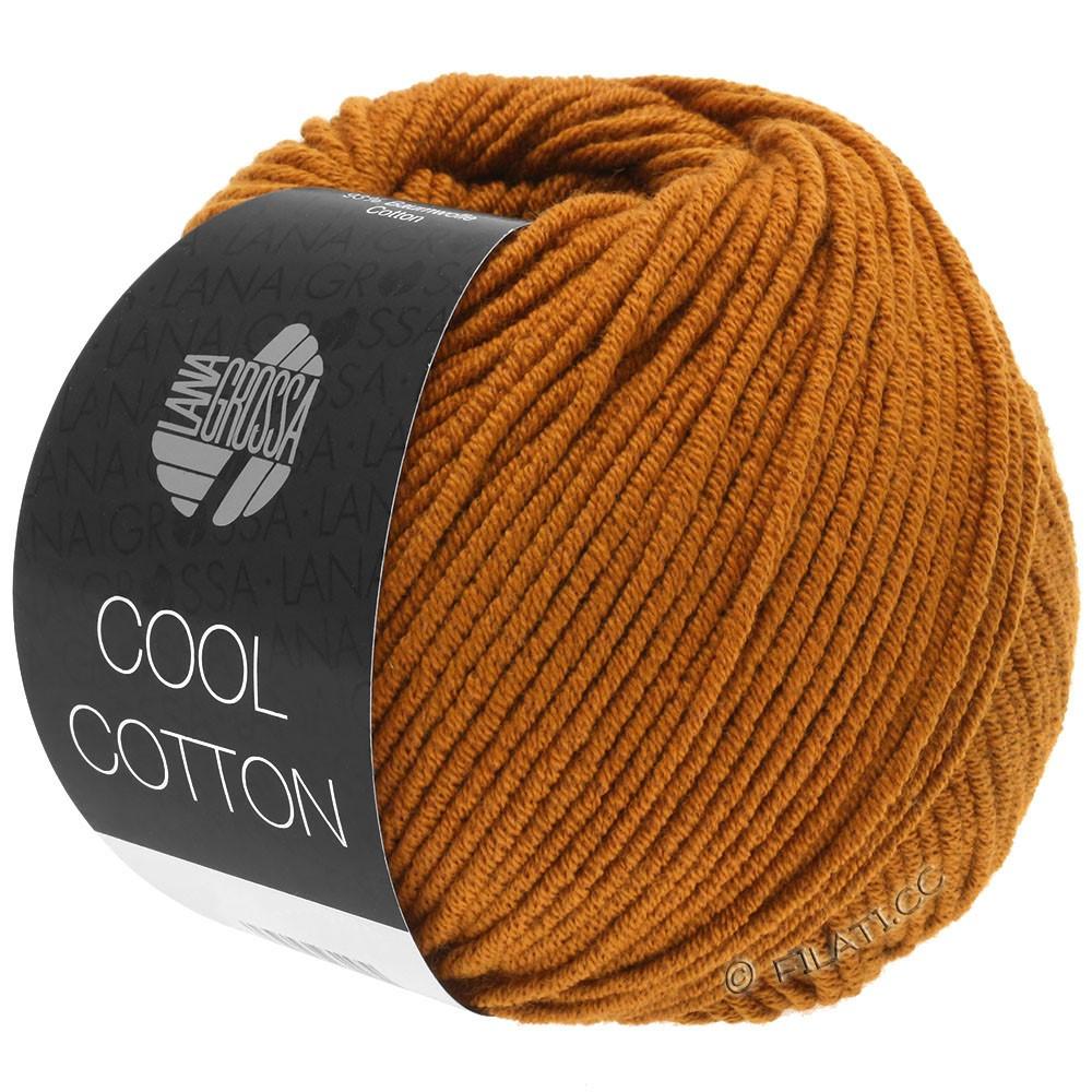 Lana Grossa COOL COTTON   11-Ockerbraun