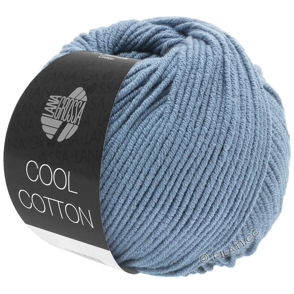 Lana Grossa COOL COTTON   17-Taubenblau