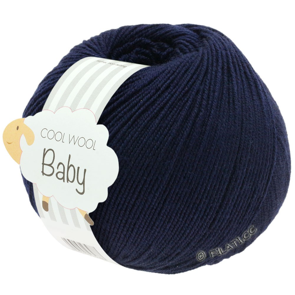Lana Grossa COOL WOOL Baby | 210-Nachtblau