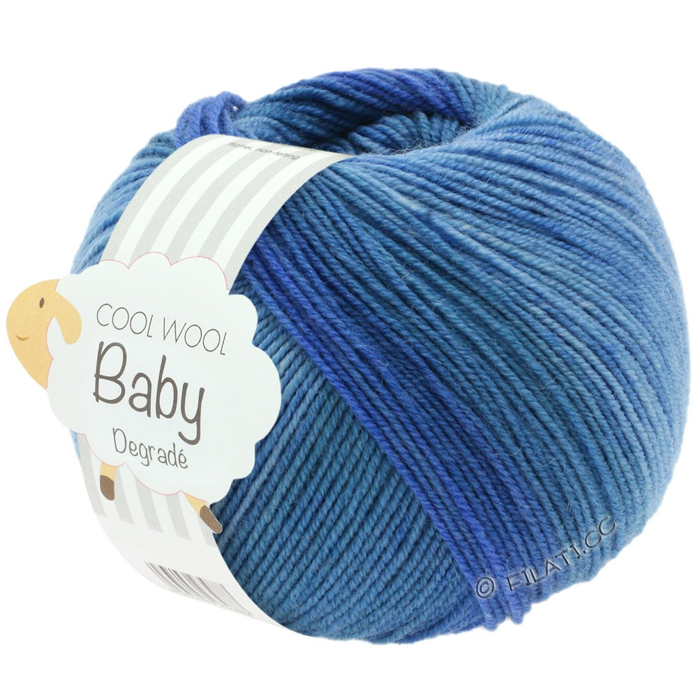 Lana Grossa COOL WOOL Baby Degradé