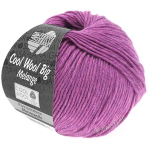 Lana Grossa COOL WOOL Big  Uni/Melange | 0351-Flieder meliert