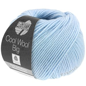 Lana Grossa COOL WOOL Big  Uni/Melange | 0604-Hellblau