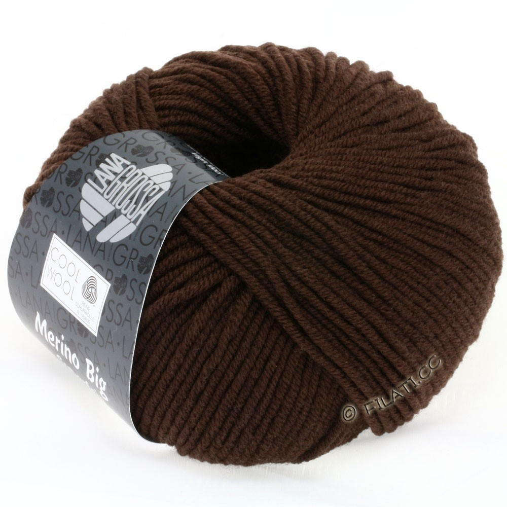 Lana Grossa COOL WOOL Big  Uni/Melange | 0644-Mokka