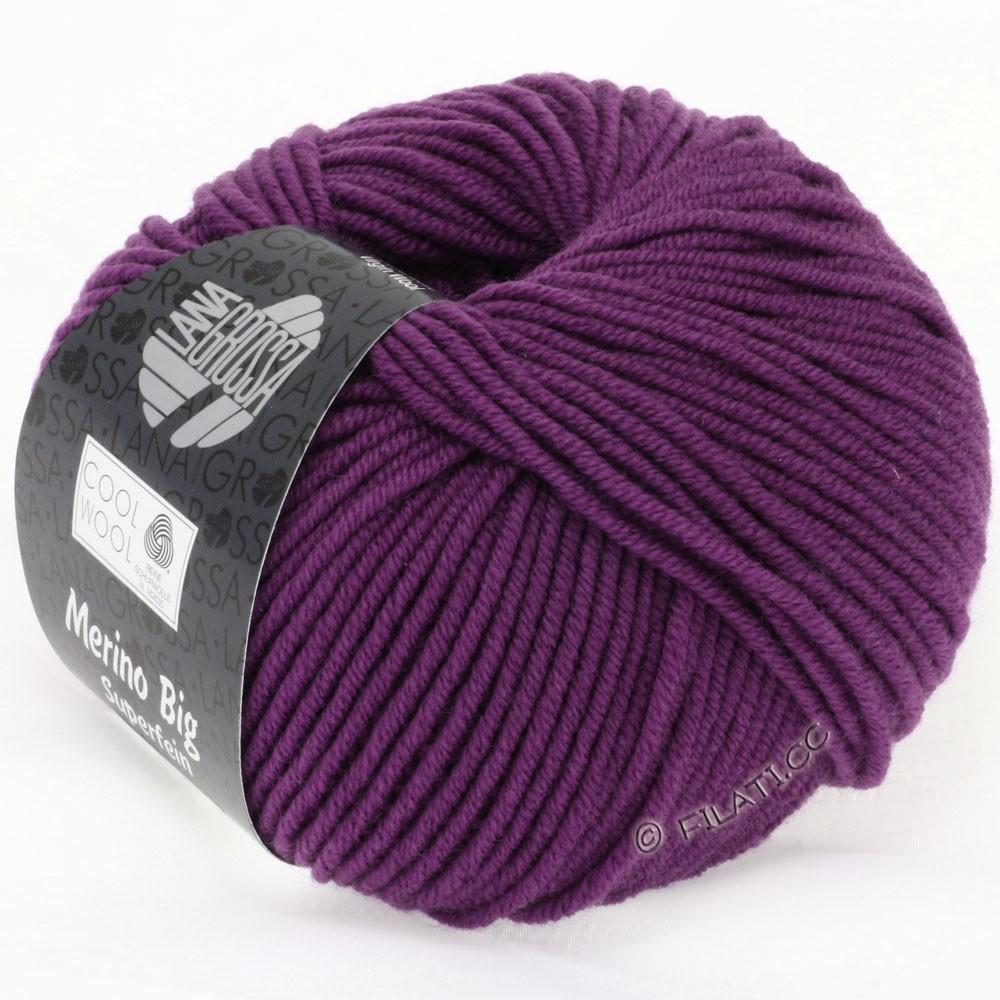 Lana Grossa COOL WOOL Big  Uni/Melange   0695-Violett