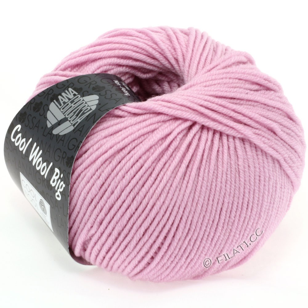 Lana Grossa COOL WOOL Big  Uni/Melange | 0915-Nelke