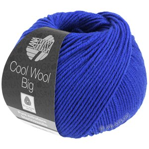 Lana Grossa COOL WOOL Big  Uni/Melange | 0934-Royal