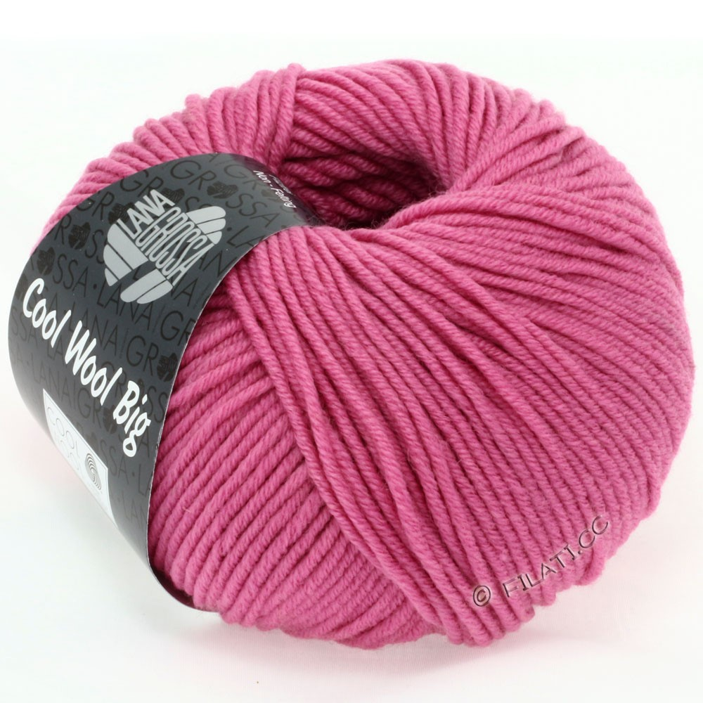 Lana Grossa COOL WOOL Big  Uni/Melange | 0937-Erika