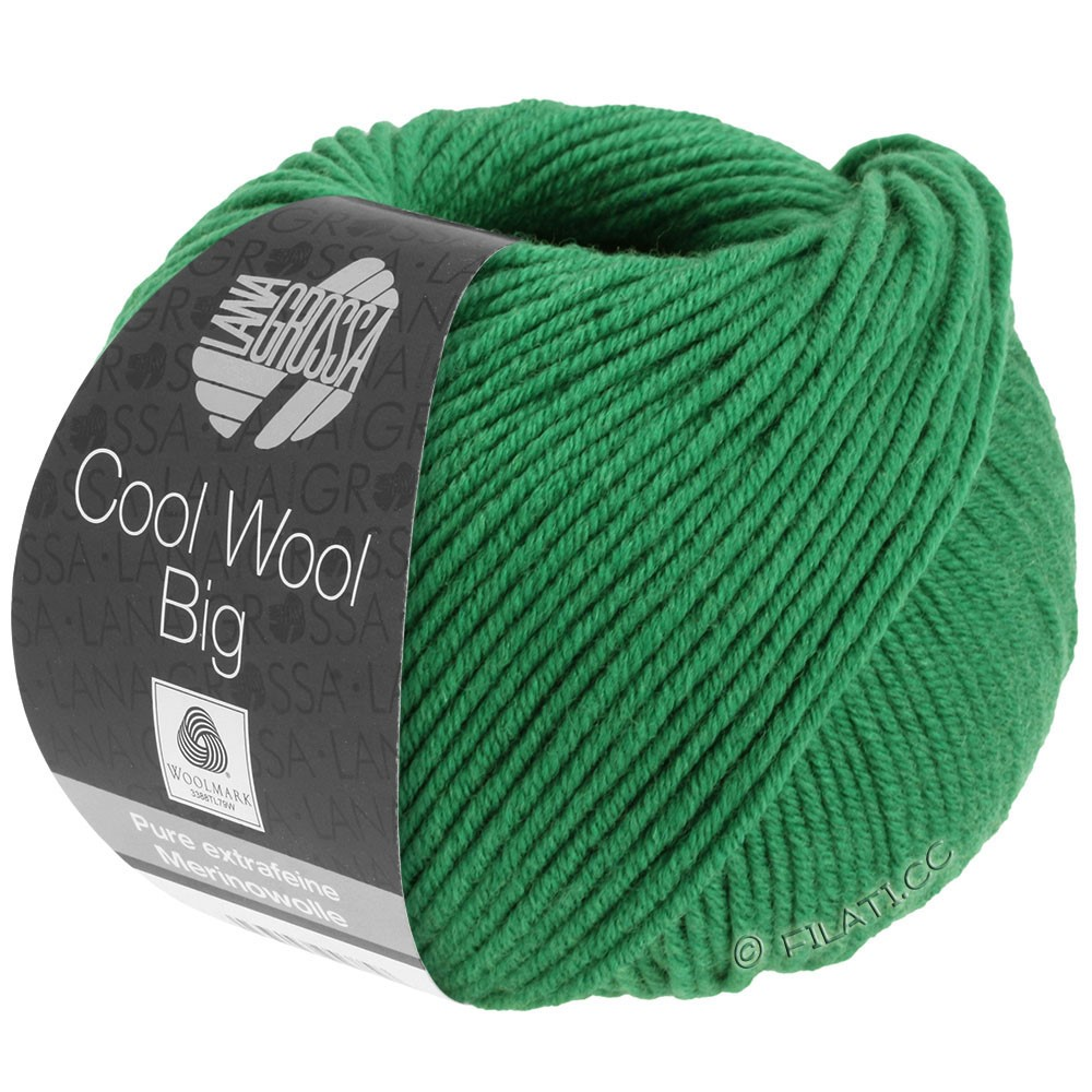 Lana Grossa COOL WOOL Big  Uni/Melange