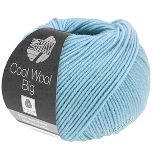 Lana Grossa COOL WOOL Big  Uni/Melange | 0946-Himmelblau