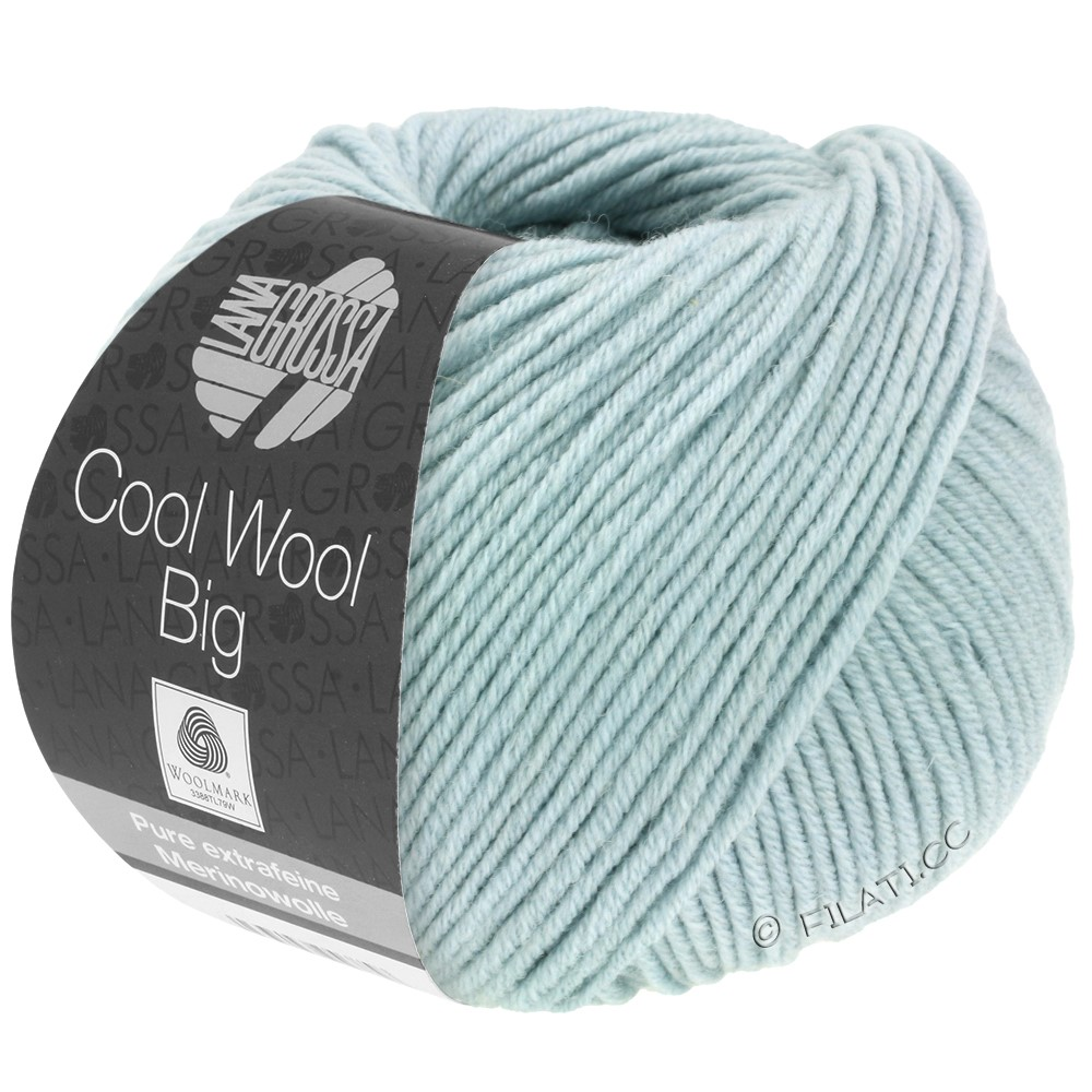 Lana Grossa COOL WOOL Big  Uni/Melange   0947-Mint